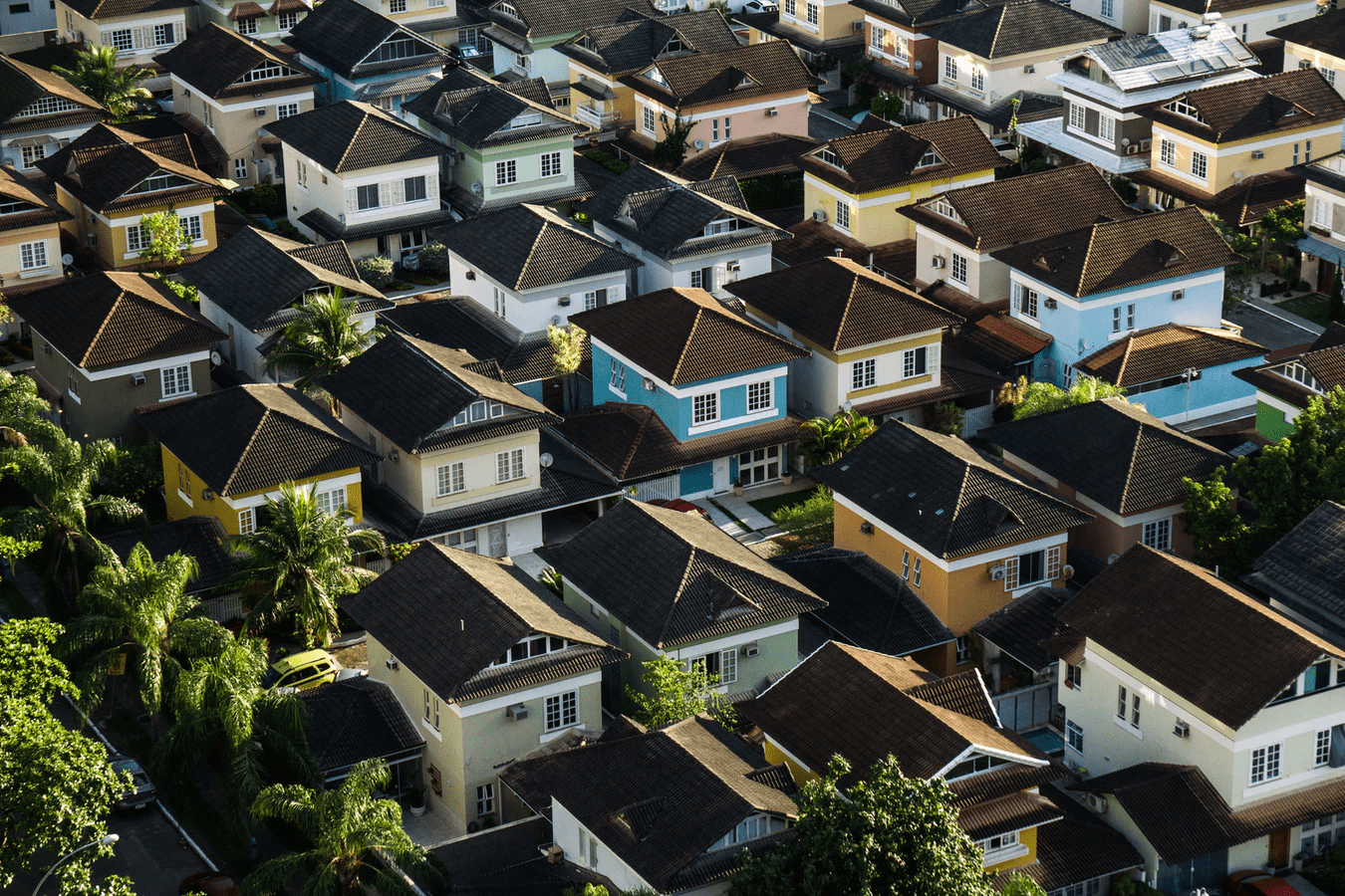 Homogenized Housing To Demonstrate Importance Of Standing Out