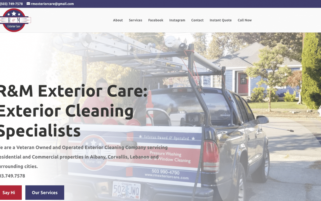 R & M Exterior Care – Albany, Oregon